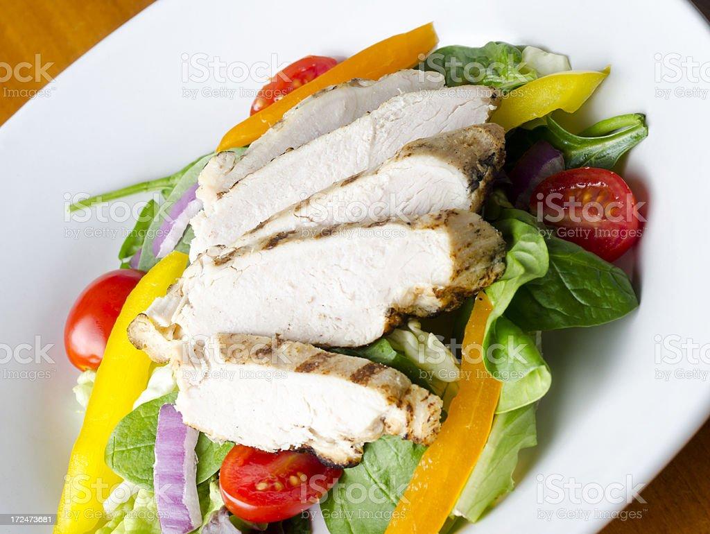 Chicken Breast Salad royalty-free stock photo