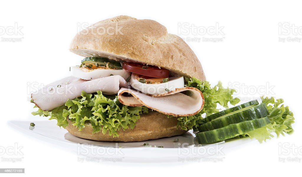 Chicken Breast Sandwich royalty-free stock photo