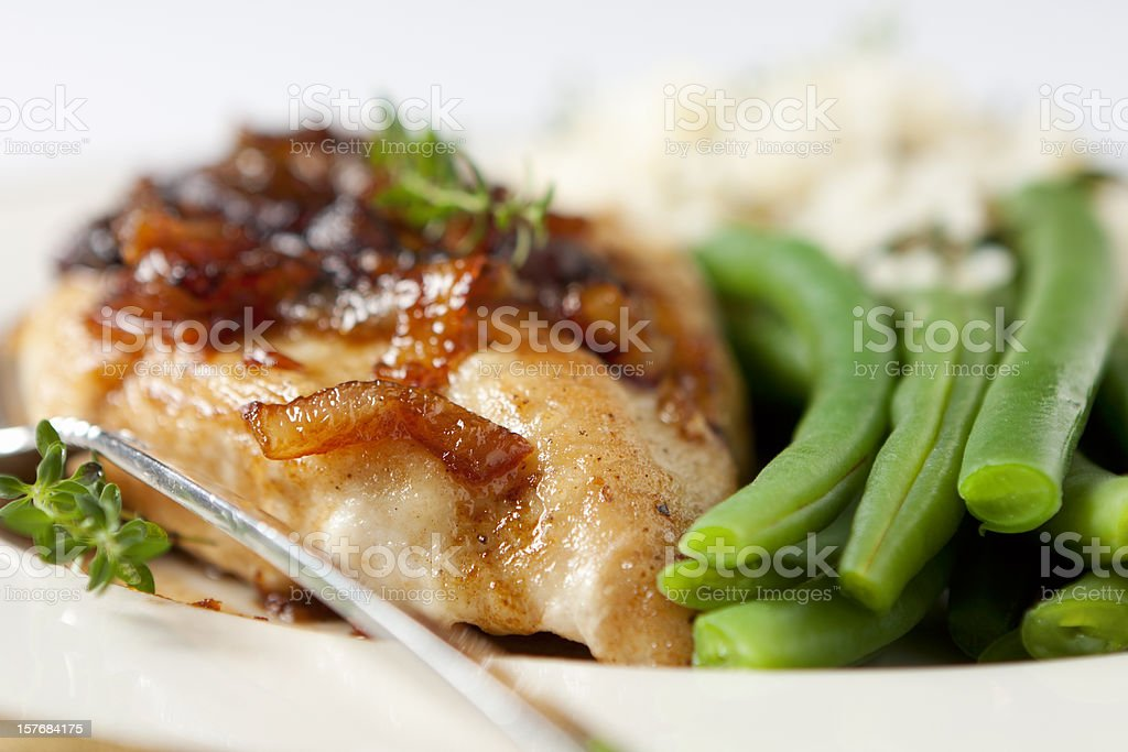 Chicken Breast with Marsala Sauce royalty-free stock photo
