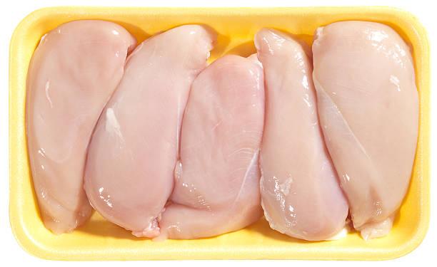 peito de frango - cru - fotografias e filmes do acervo