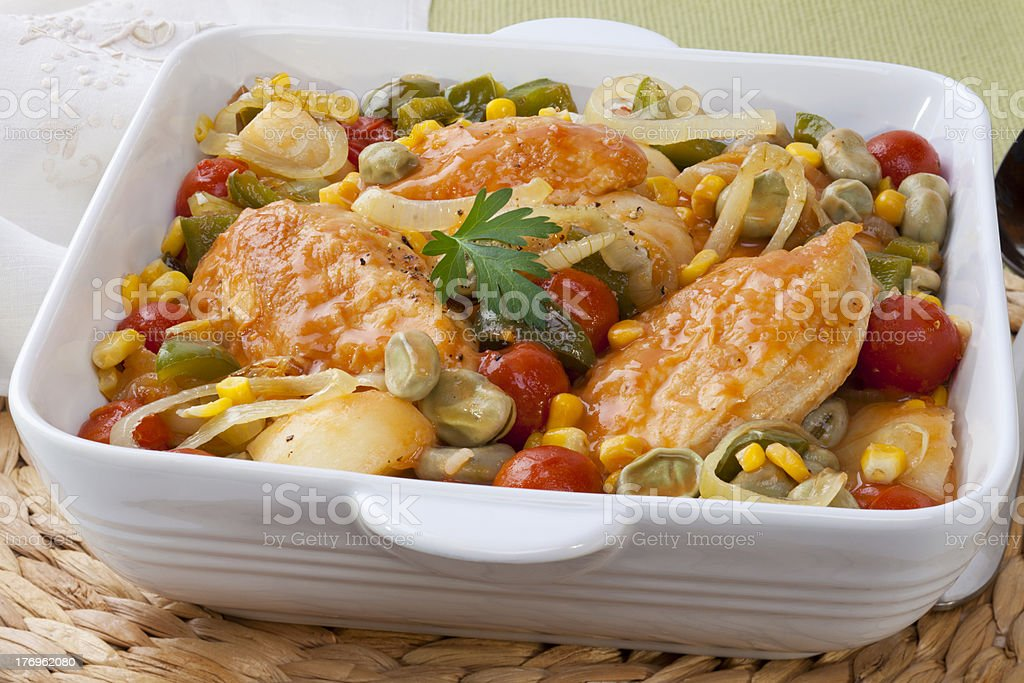 Chicken Brunswick Stew stock photo
