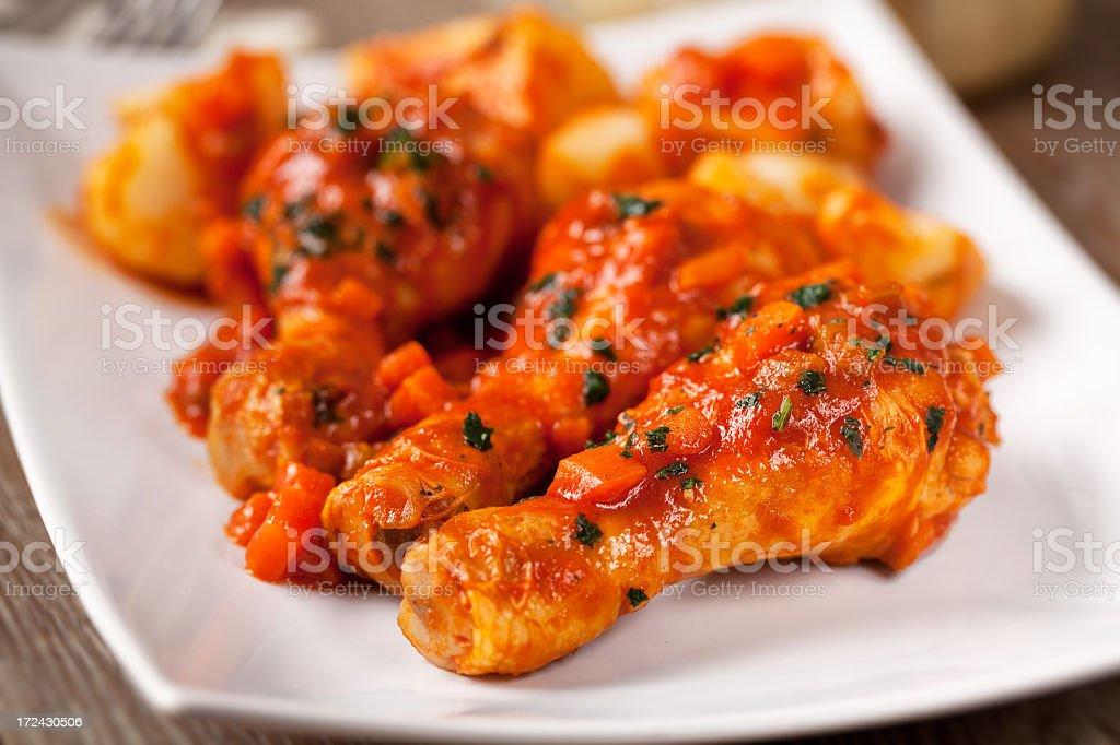 Chicken Cacciatore royalty-free stock photo