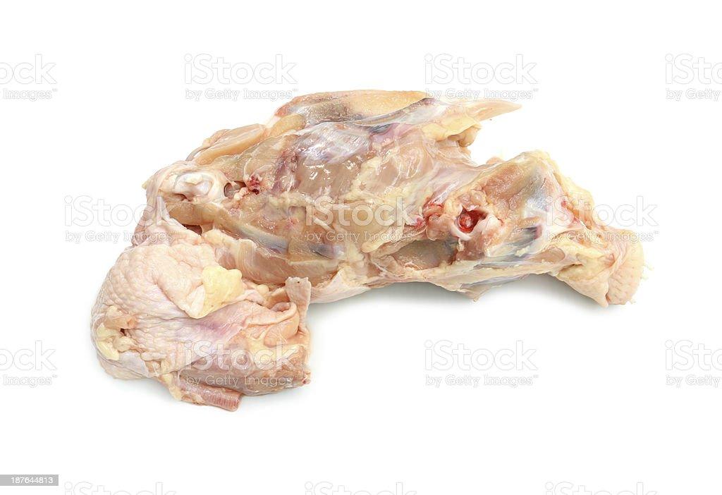 Chicken carcass stock photo