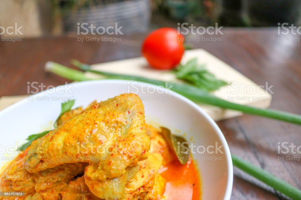 Chicken Curry, Culinary | Indonesian Food royalty-free stock photo