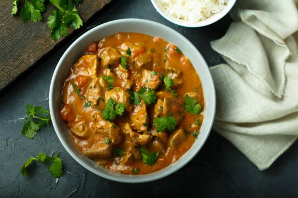 frango ao curry - caril - fotografias e filmes do acervo