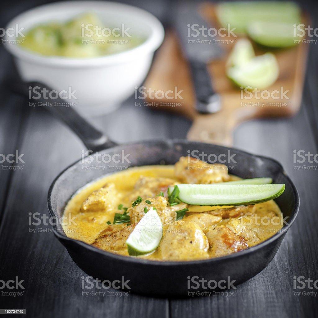curry-Huhn – Foto