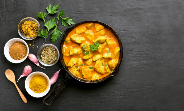 Poulet au curry  - Photo