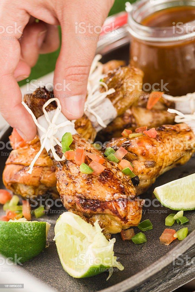 Chicken Drumsticks royalty-free stock photo