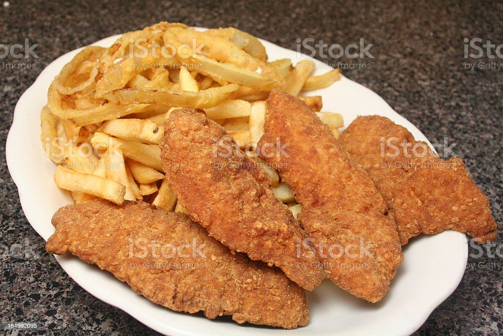 Chicken Fingers royalty-free stock photo