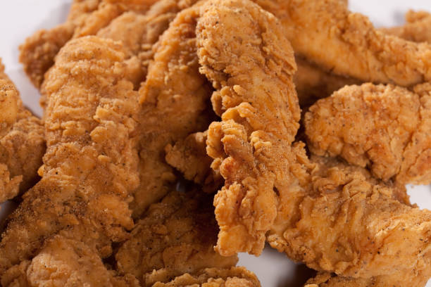 chicken fingers - finger stock photos and pictures