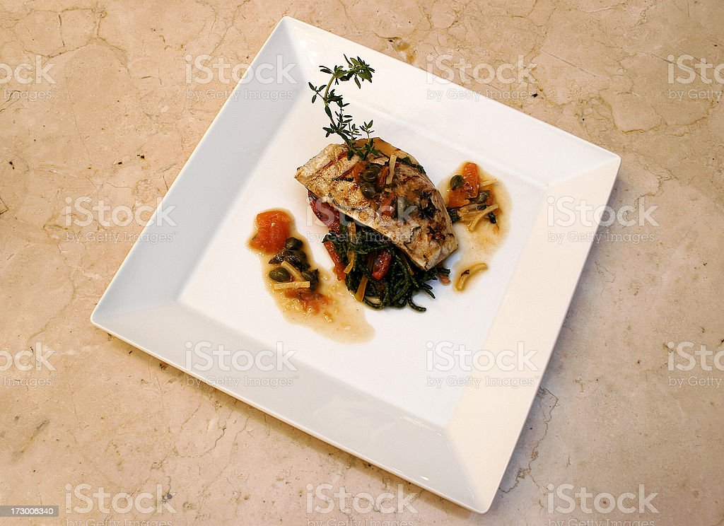 Chicken food stock photo