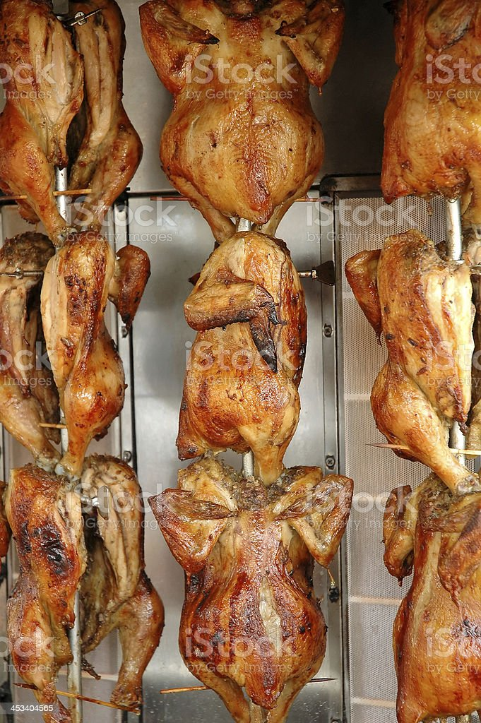 chicken grill royalty-free stock photo