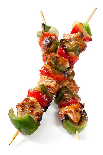 Kebabs au poulet - Photo