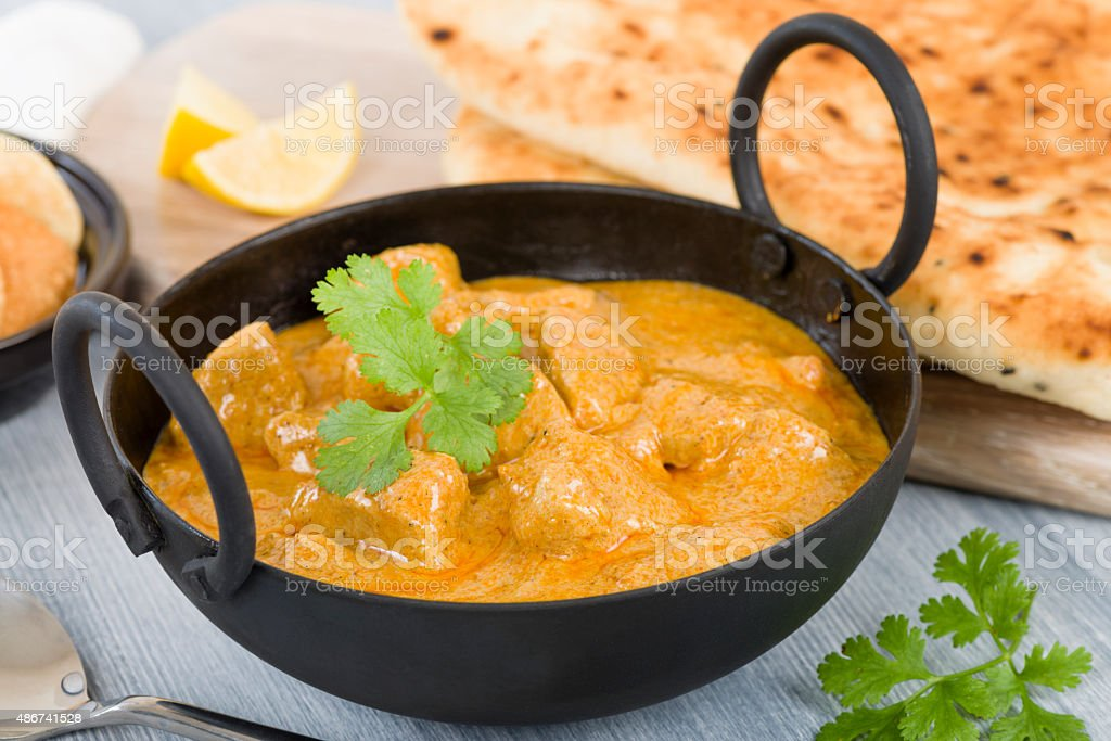 Chicken Korma stock photo