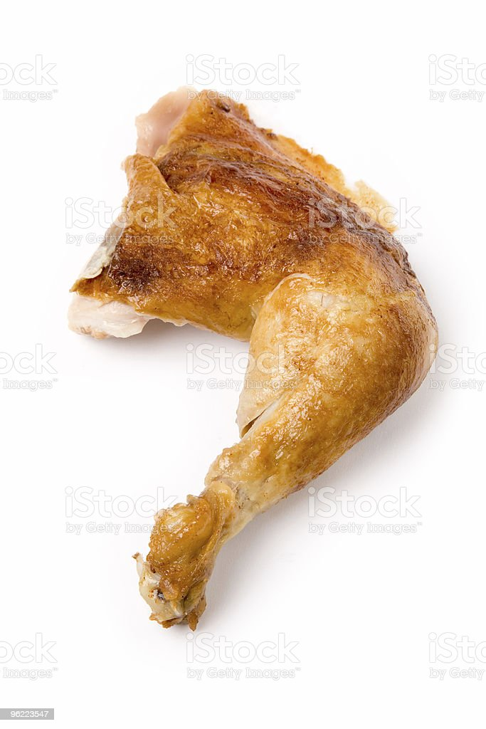 Chicken Leg royalty-free stock photo