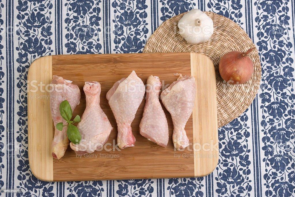 Chicken Leg Pieces royalty-free stock photo
