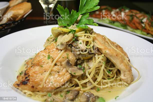 Chicken Marsala Stock Photo - Download Image Now