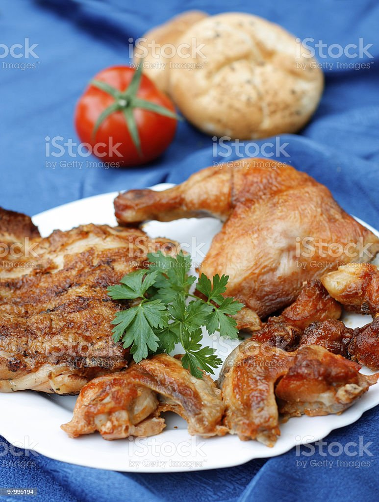 Chicken meat royalty-free stock photo