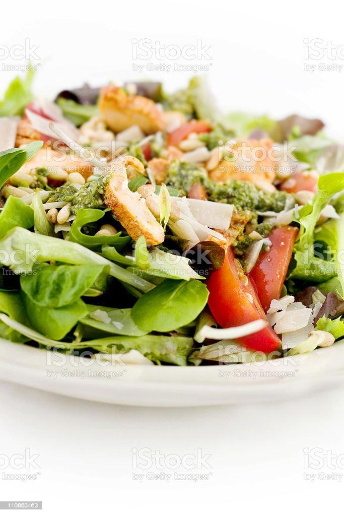 Chicken Pesto Salad royalty-free stock photo