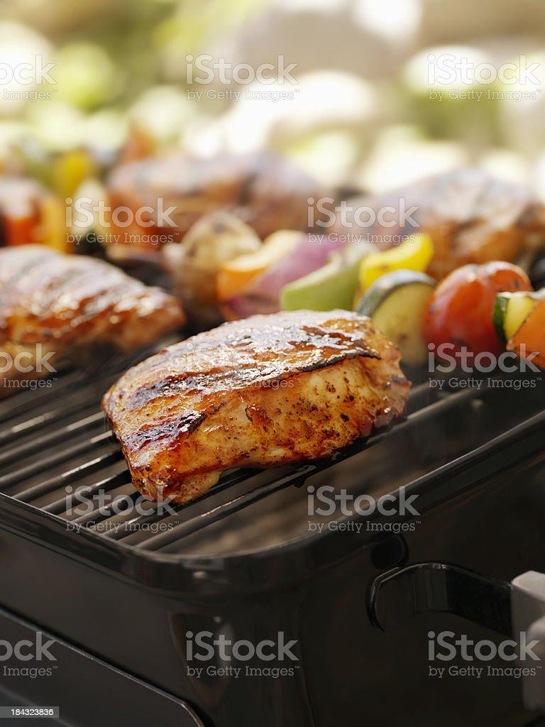 BBQ Chicken royalty-free stock photo