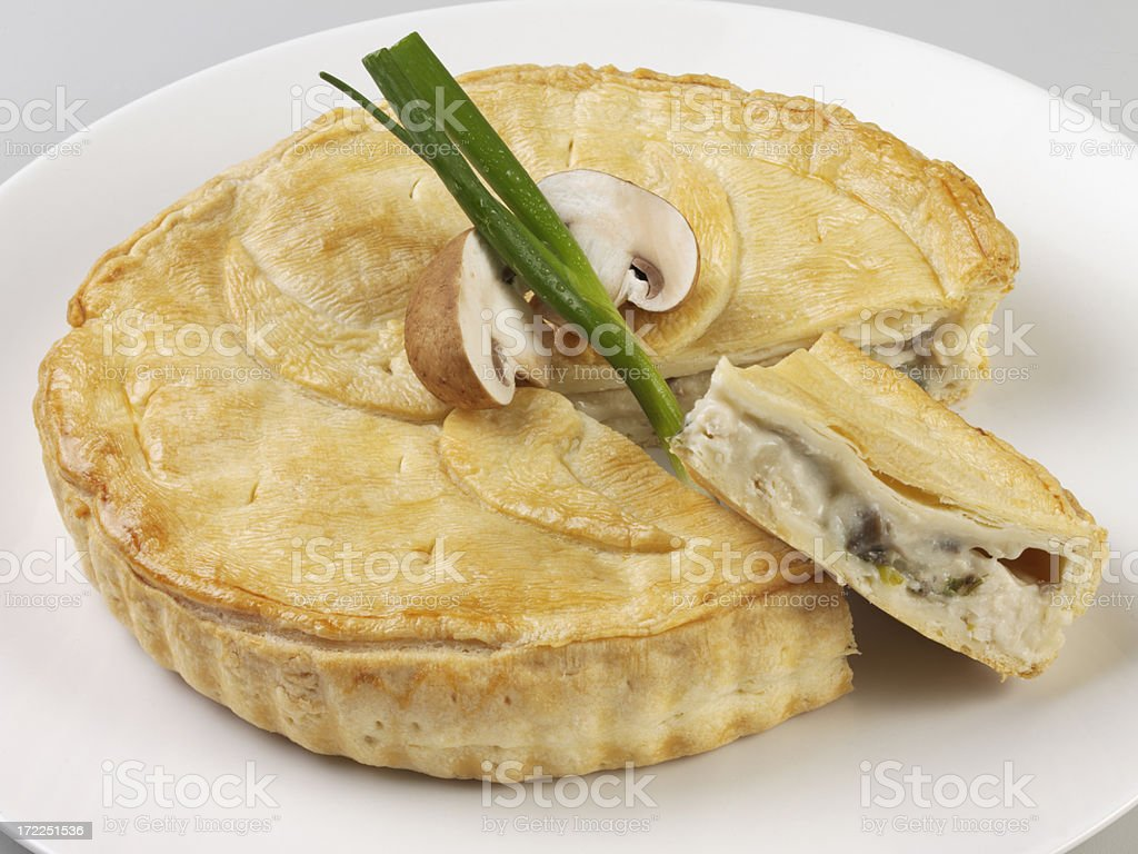Chicken pie. royalty-free stock photo