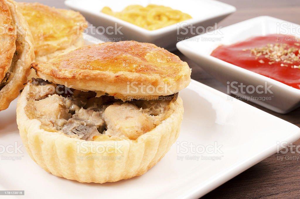 Chicken pie royalty-free stock photo