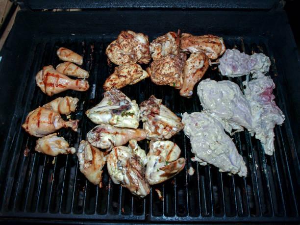 BBQ Chicken Pieces stock photo