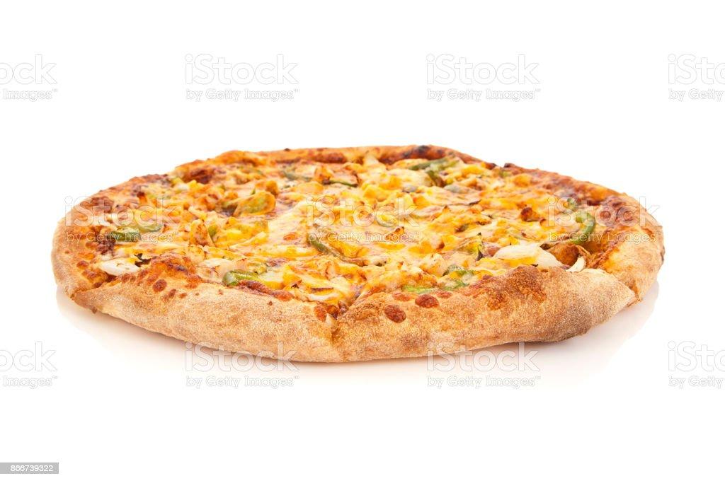 BBQ Chicken Pizza stock photo