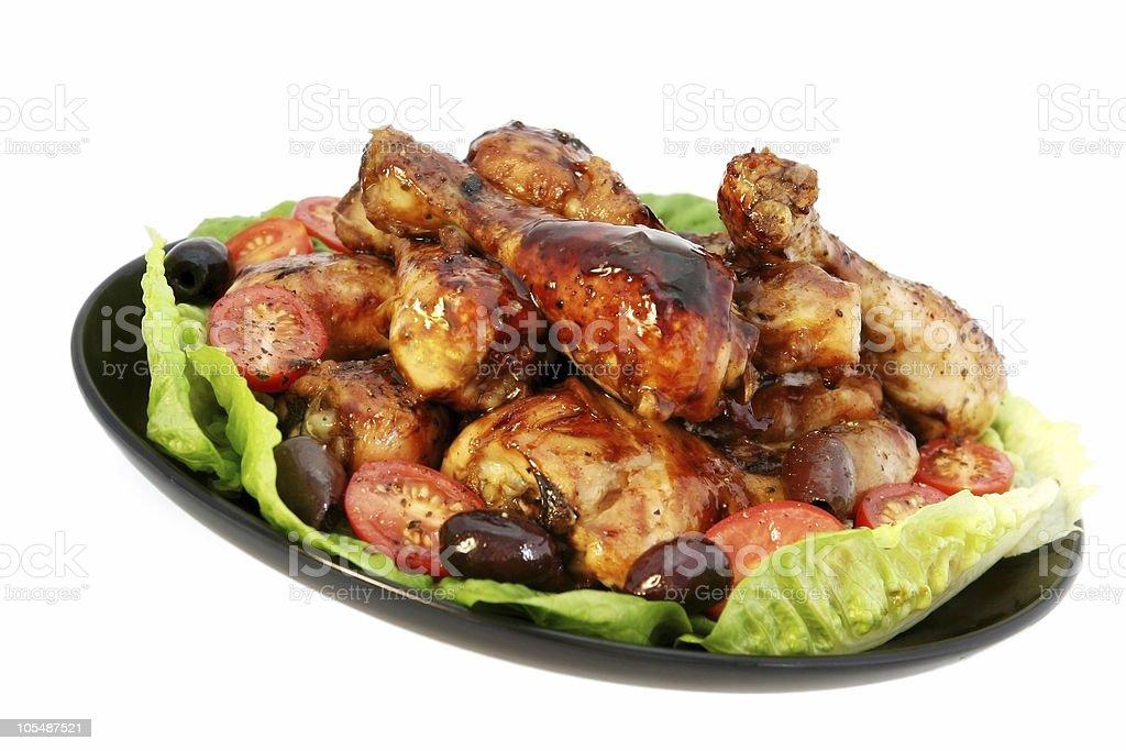 Chicken Platter royalty-free stock photo