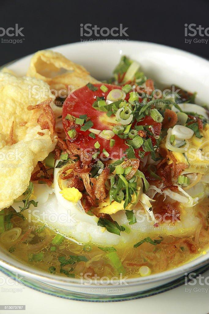 Chicken Porridge stock photo