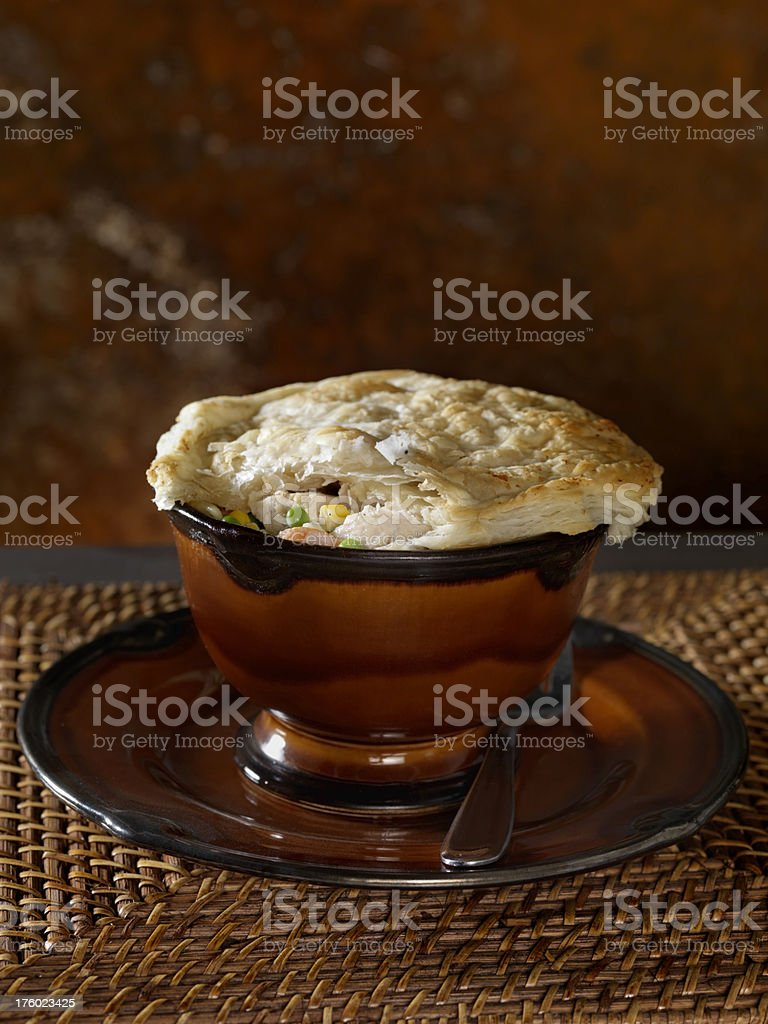 Chicken Pot Pie 1 royalty-free stock photo