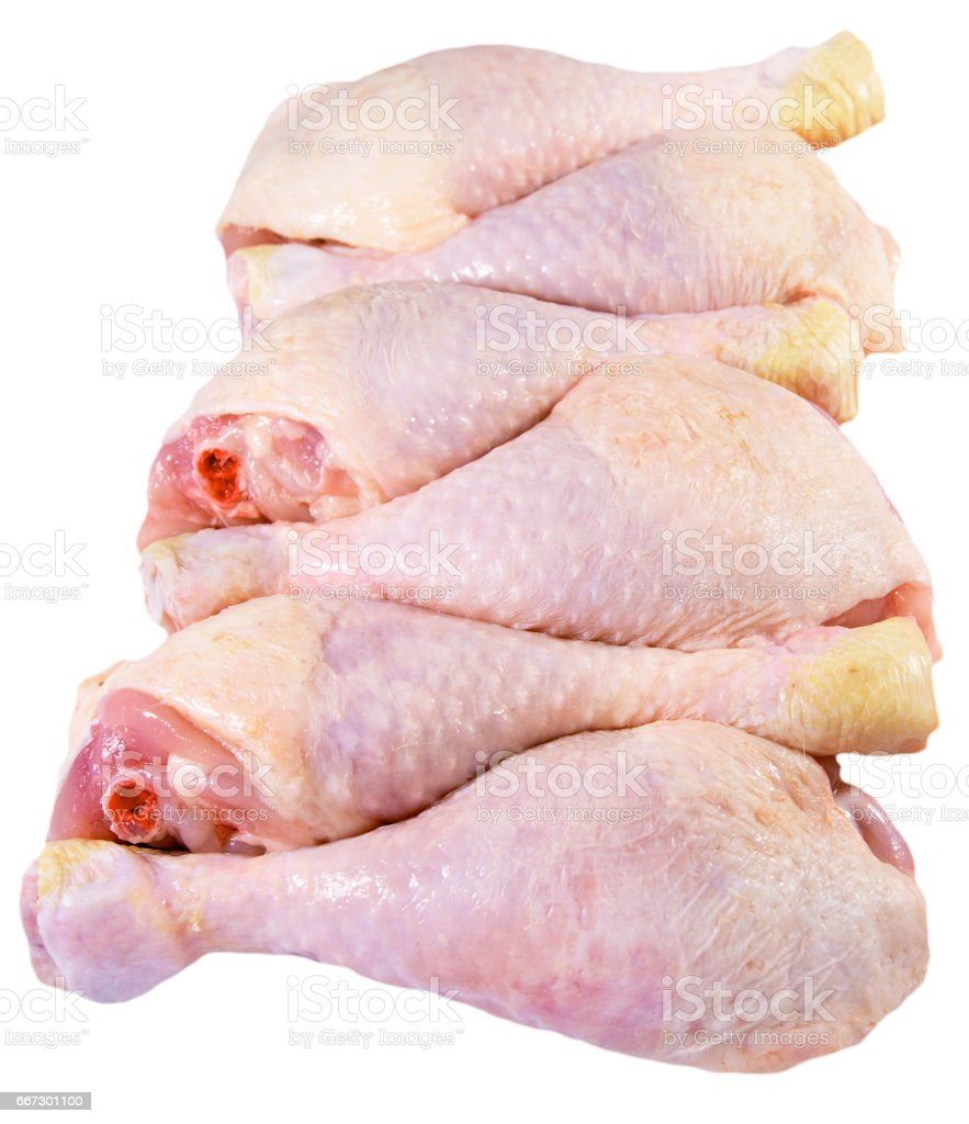 Chicken Raw Drumsticks Stock Photo & More Pictures of Bird | iStock