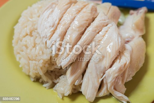 Tian Tian Hainanese chicken rice the best chicken rice hawker stall in Maxwell food centre.