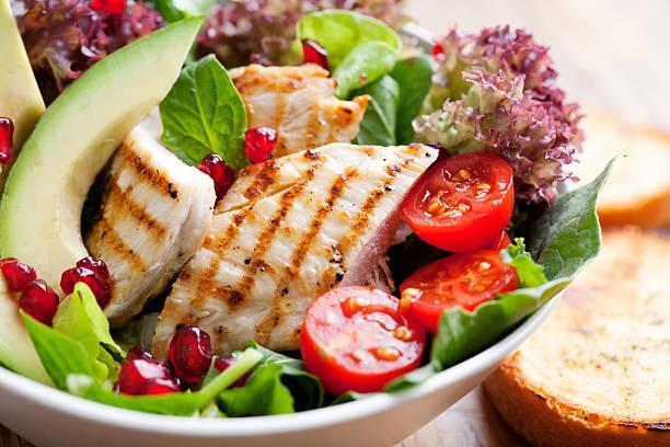 chicken-Salat – Foto