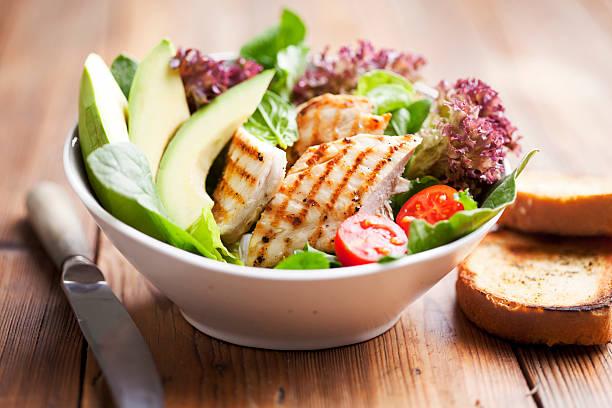 Salade au poulet - Photo