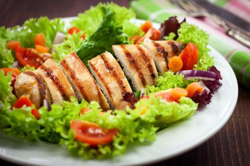 Grilled Chicken Caesar Salad