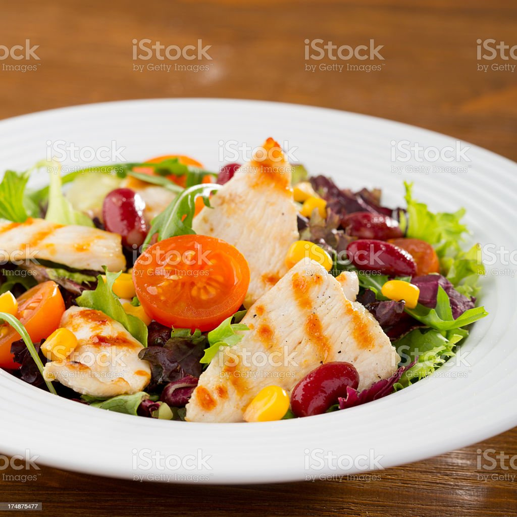 Chicken salad royalty-free stock photo