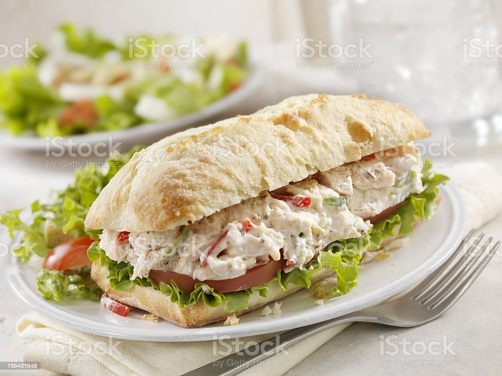 Chicken Salad Sandwich royalty-free stock photo