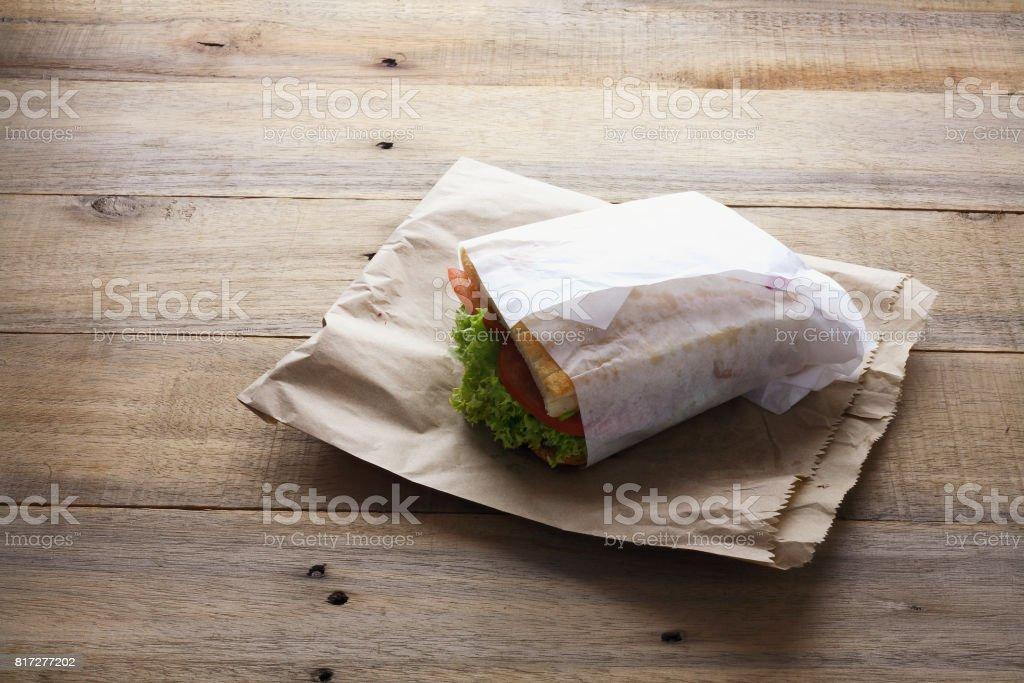 Hühnchen-Sandwich – Foto