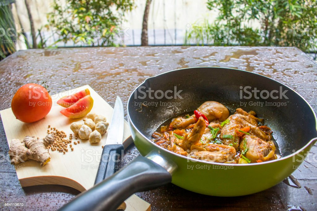 Chicken Soy Sauce, Chicken Food, Indonesian Food | Asian Food royalty-free stock photo