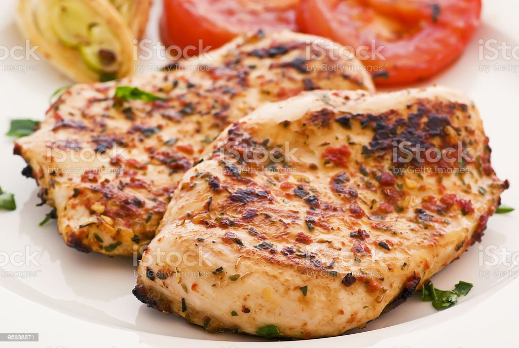 Chicken Steak royalty-free stock photo