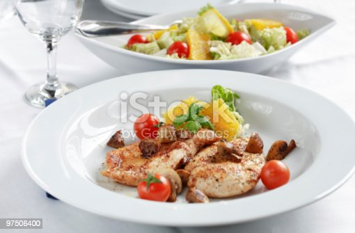 Chicken Steak Stock Photo & More Pictures of Barbecue
