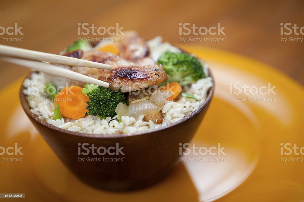 Chicken Stir Fry royalty-free stock photo