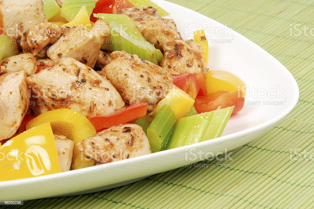 Chicken Stir Fry royalty-free stock photo
