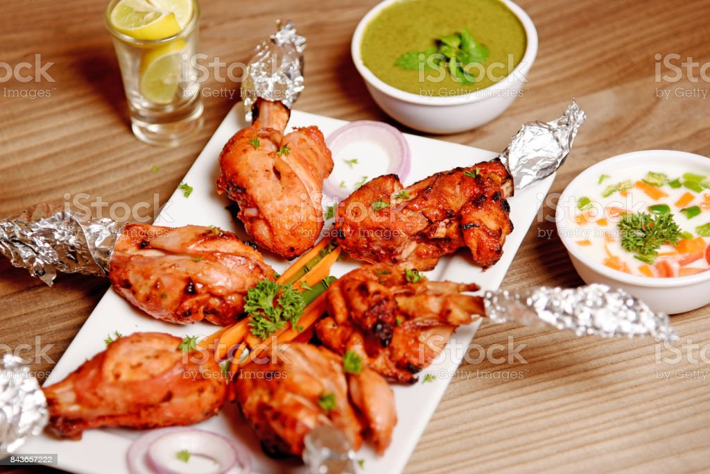 Chicken Tandoori stock photo