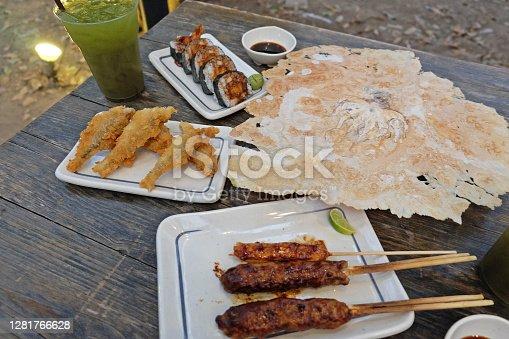 Izakaya(Japanese style street food)
