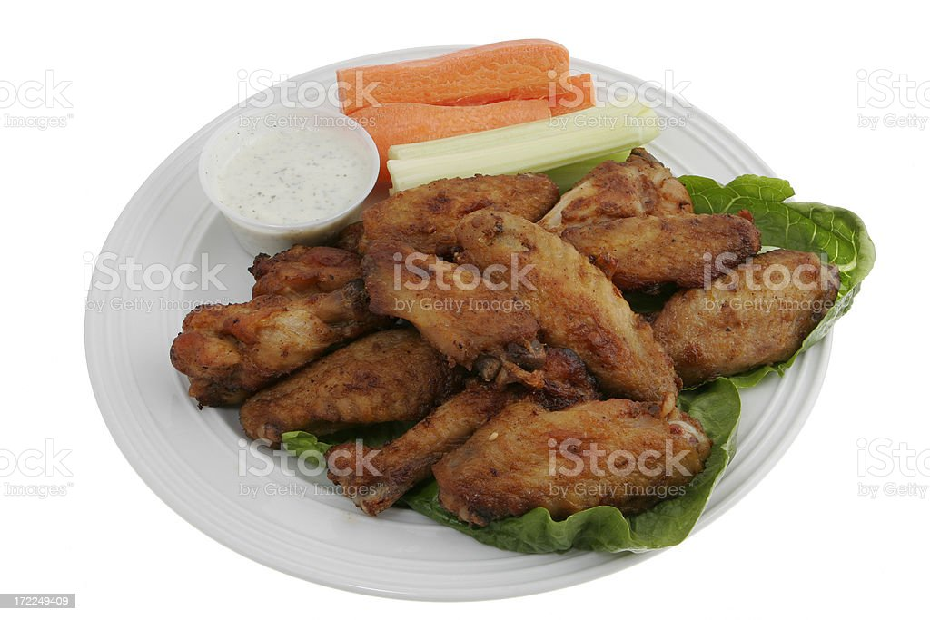 Chicken Wings  12 royalty-free stock photo
