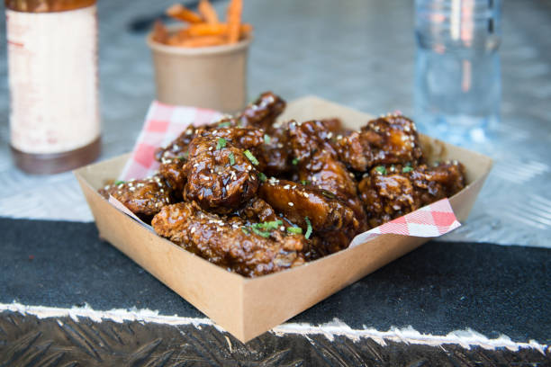 Chicken Wings Delicious Chicken Wings food festival stock pictures, royalty-free photos & images