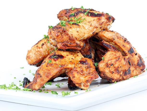 BBQ chicken wings – Foto