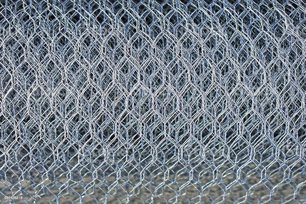 Chicken Wire Stock Photo & More Pictures of Built Structure | iStock
